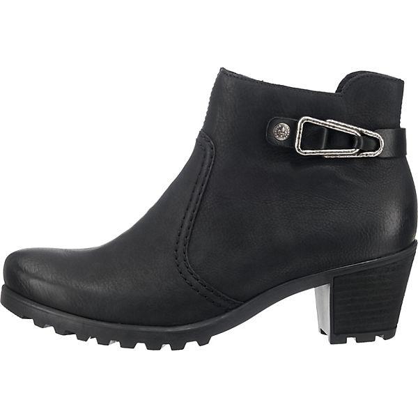 rieker, Qualität rieker Stiefeletten, schwarz  Gute Qualität rieker, beliebte Schuhe e8c959