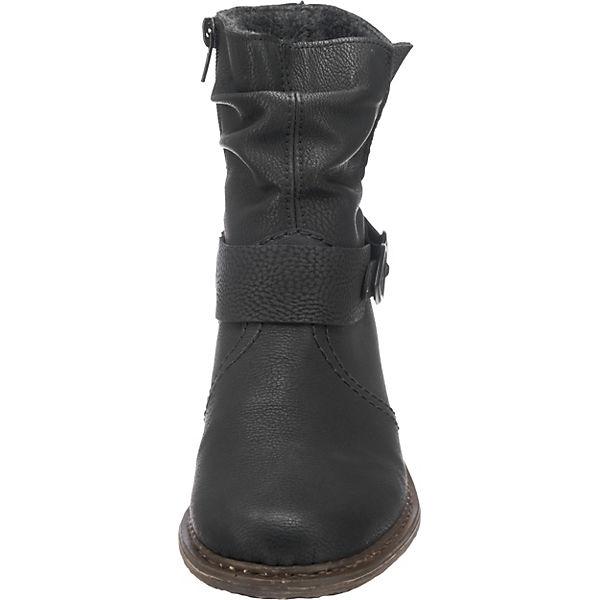 Rieker, Klassische Stiefeletten, schwarz    Gute Qualität beliebte Schuhe 554c80