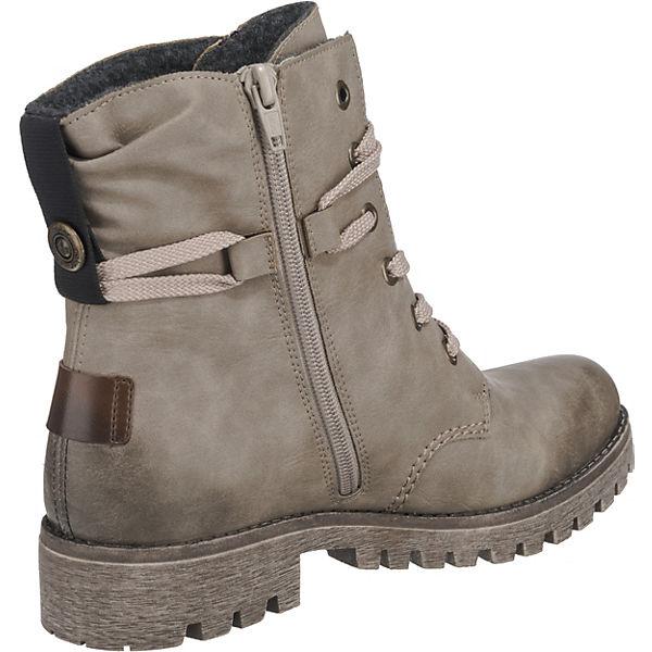 rieker Schnürstiefeletten grau  beliebte Gute Qualität beliebte  Schuhe 528ea7