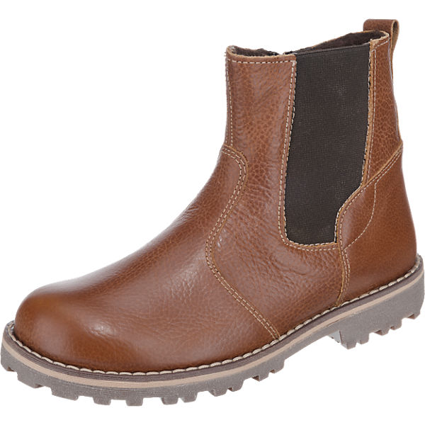 Friboo Stiefel für Jungen hellbraun