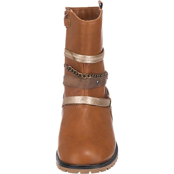 Friboo Stiefel für Mädchen hellbraun