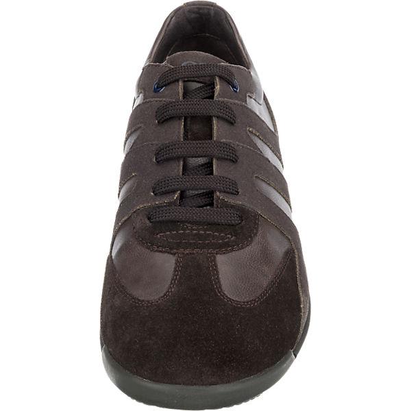GEOX GEOX Edgware Sneakers dunkelbraun