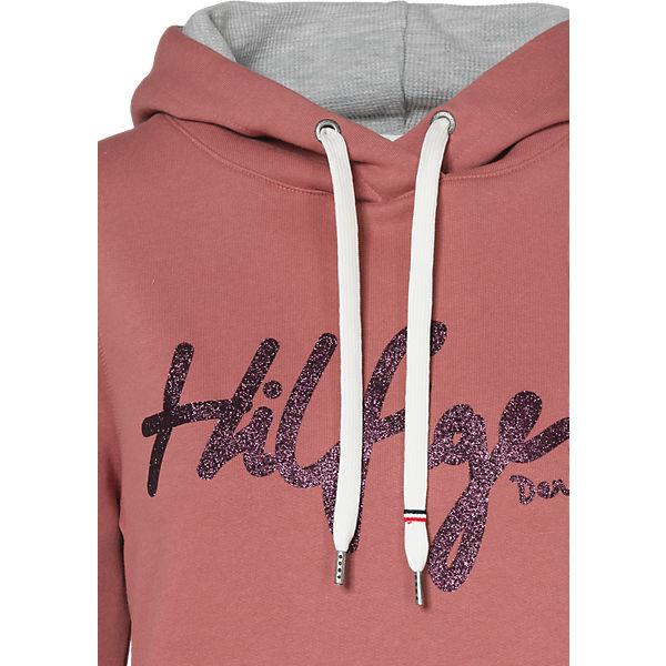 HILFIGER HILFIGER DENIM HILFIGER Sweatshirt rosa DENIM DENIM HILFIGER Sweatshirt rosa rosa Sweatshirt Srqfz8S