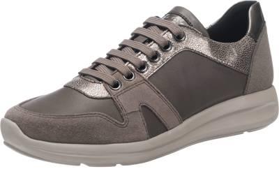 Geox GEOX Agyleah Sneakers, schwarz, schwarz