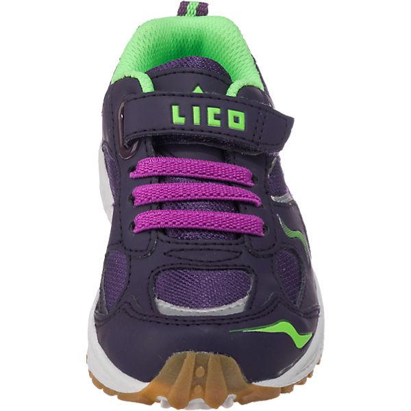 LICO Sportschuhe BOB VS für Mädchen lila