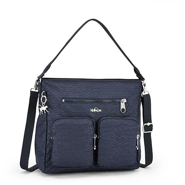 Kipling Basic Plus Tasmo BP 17 Handtasche 28 cm dunkelgrau Damen Sale Angebote Frauendorf