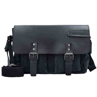 Greenburry Black Sails Messenger Bag 36 cm Tabletfach