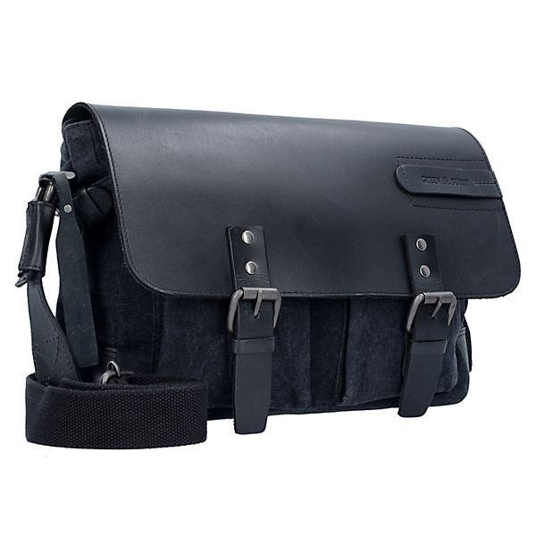 Greenburry Greenburry Black Sails Messenger Bag 36 cm Tabletfach schwarz