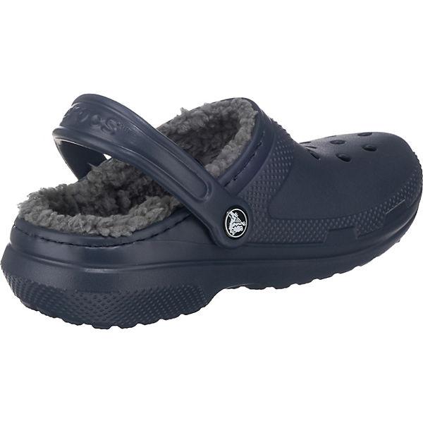 crocs CROCS Classic Lined Clogs dunkelblau
