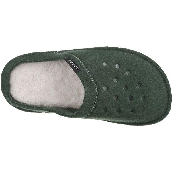 grün CROCS Slipper Hausschuhe Classic crocs qvOxa4Iwwd