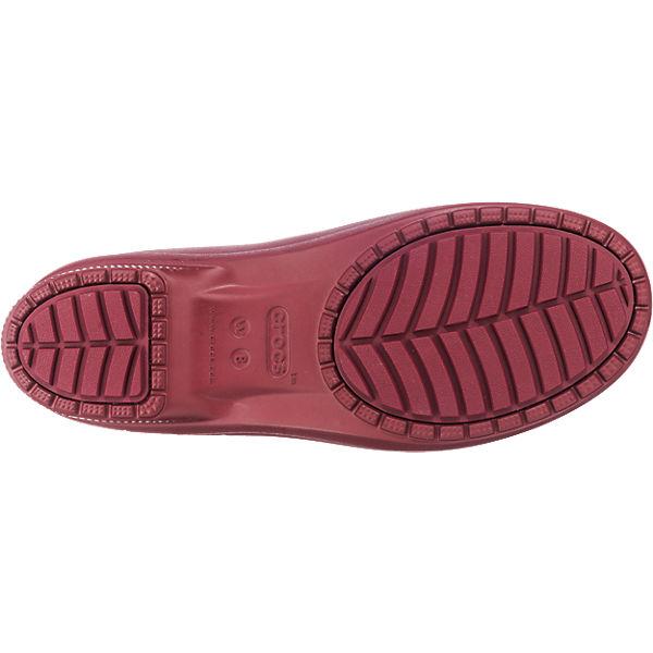 Crocs Freesail CROCS bordeaux Chelsea crocs Stiefel B5Tqa