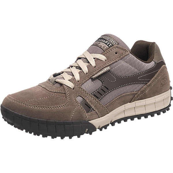 SKECHERS Floater Freizeit Schuhe grau Herren Gr. 47,5 Sale Angebote Drebkau