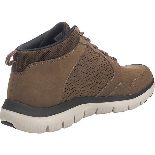 braun nbsp; ADVANTAGE Sneakers 0 SKECHERS FLEX 2 High xqSwPZU0Z