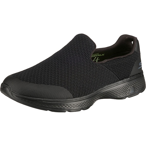 wholesale dealer f9fb5 f2b02 SKECHERS, GO WALK 4 EXPERT Sportliche Slipper, schwarz