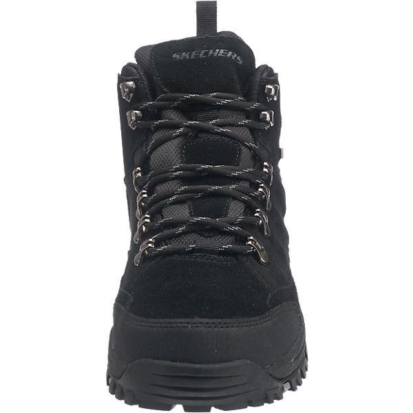 SKECHERS, SKECHERS RelmentPelmo Stiefeletten, beliebte schwarz  Gute Qualität beliebte Stiefeletten, Schuhe 774811