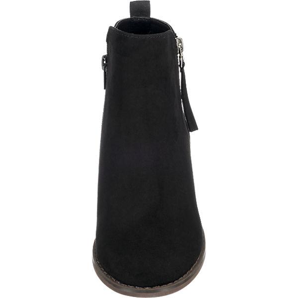 BOOTIE Klassische BIANCA schwarz Stiefeletten HEELED ONLY ZIP HgaqwgC