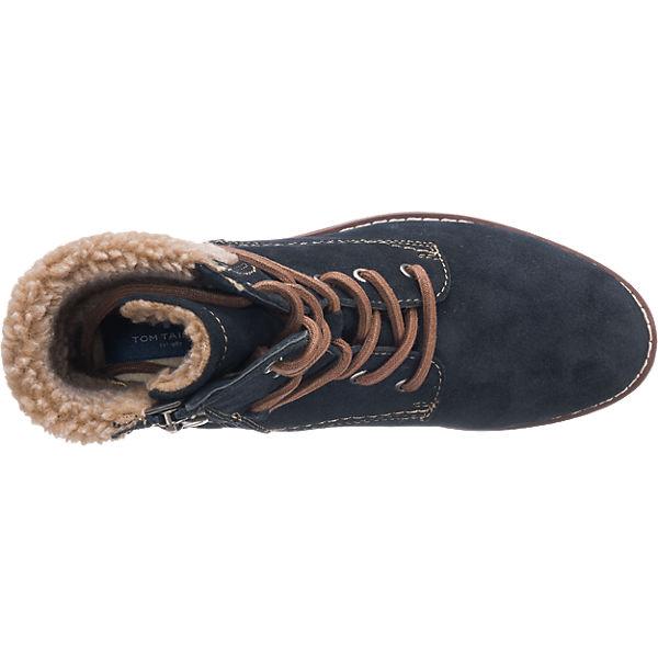 TOM TAILOR, TOM TAILOR Stiefeletten, Stiefeletten, Stiefeletten, dunkelblau  Gute Qualität beliebte Schuhe 2bb22f