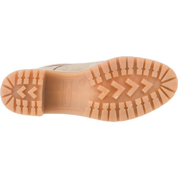 TOM TAILOR, TOM TAILOR Qualität Stiefeletten, grau  Gute Qualität TAILOR beliebte Schuhe b72b54