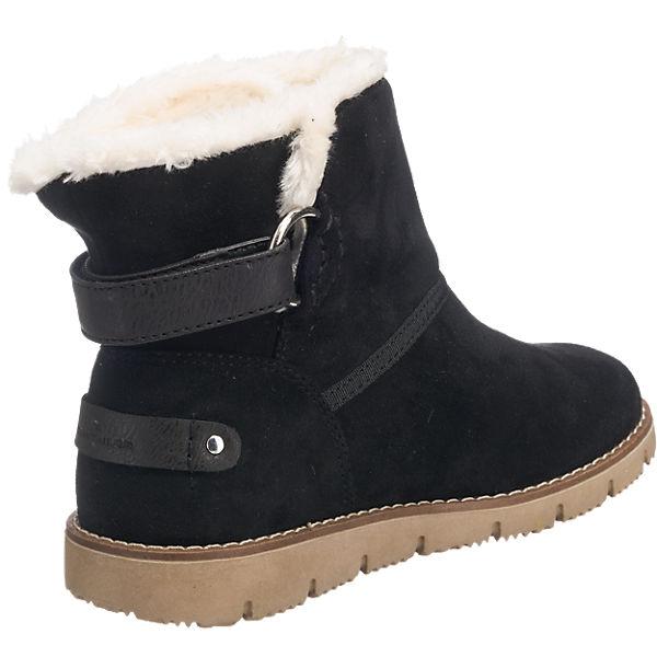TOM TAILOR, TOM TAILOR beliebte Stiefeletten, schwarz  Gute Qualität beliebte TAILOR Schuhe 740d96