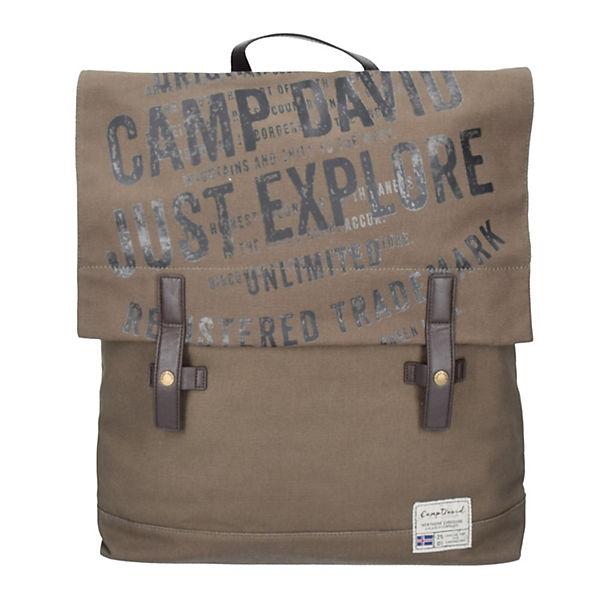 Camp David Camp David Yukon River Rucksack 46 cm braun