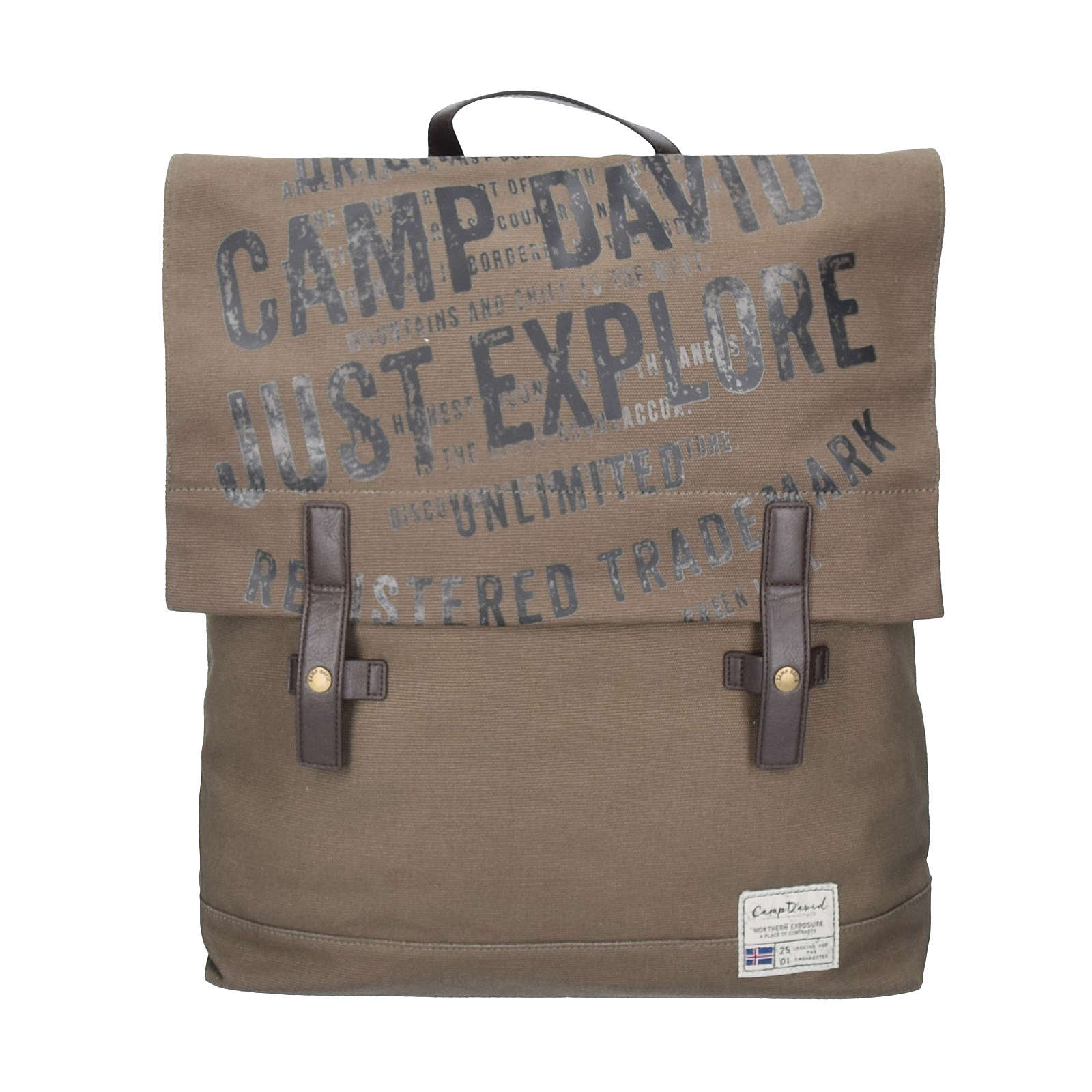 Camp David Yukon River Rucksack 46 cm braun
