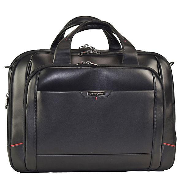 Samsonite Samsonite Pro-DLX 4 LTH Business Aktentasche 44 cm Laptopfach schwarz