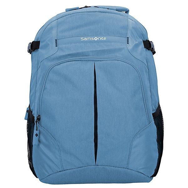 Samsonite Samsonite Rewind Rucksack 45 cm Laptopfach hellblau