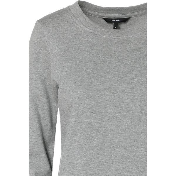 MODA MODA Sweatshirt Sweatshirt Sweatshirt hellgrau VERO hellgrau MODA VERO VERO wXA74q71