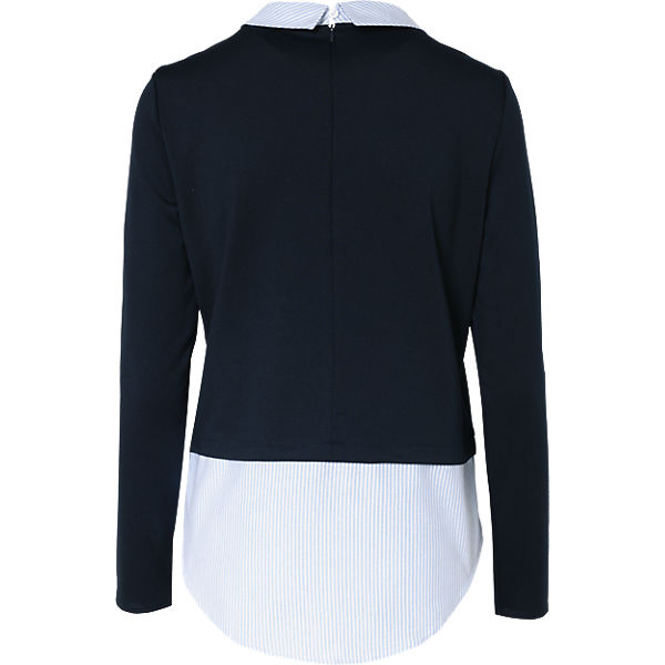 dunkelblau MODA Bluse Pullover mit VERO qwxAI8BFF