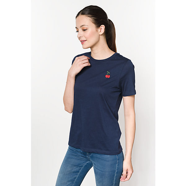 Organic VERO T Shirt MODA Cotton dunkelblau BUUxt
