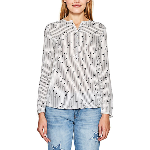 ESPRIT ESPRIT ESPRIT Bluse Bluse Bluse weiß weiß 0fAF8n5