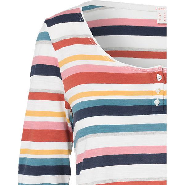 ESPRIT Arm Shirt 4 mehrfarbig 3 rq8FwErx