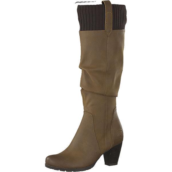 hot sale online 95bd7 b331d MARCO TOZZI, MARCO TOZZI Stiefel, braun   mirapodo