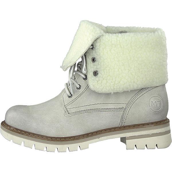 MARCO TOZZI MARCO TOZZI Stiefeletten hellgrau  Gute Qualität beliebte Schuhe