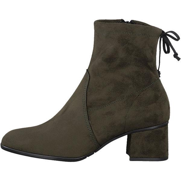 Tamaris, Gute Tamaris Stiefeletten, dunkelgrün  Gute Tamaris, Qualität beliebte Schuhe 35036e