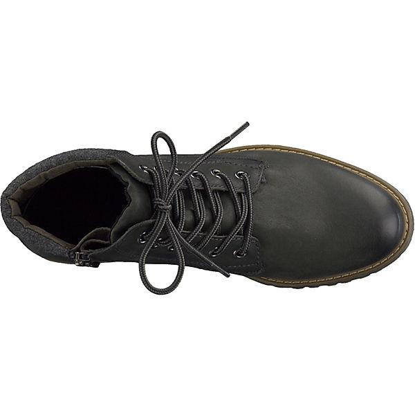 Tamaris, Gute Tamaris Stiefeletten, dunkelgrün  Gute Tamaris, Qualität beliebte Schuhe b8807d
