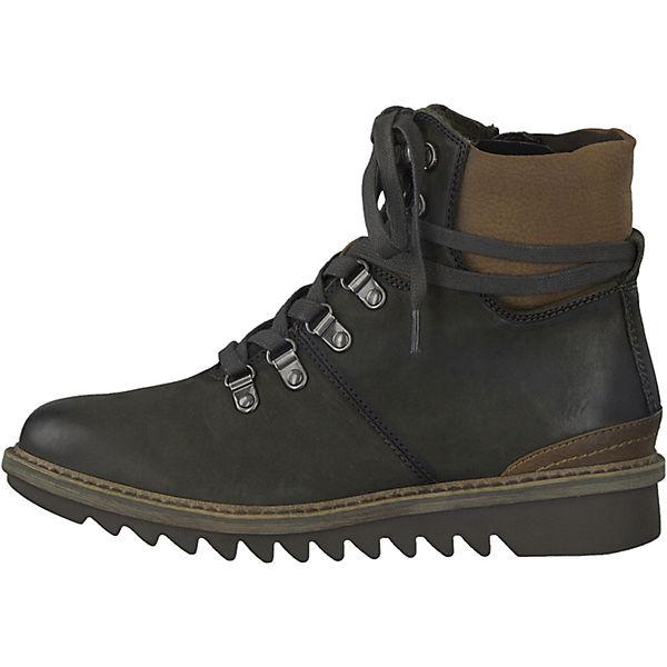 Tamaris, Tamaris Stiefeletten, dunkelgrün  Gute Qualität beliebte Schuhe