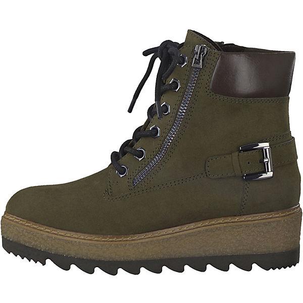 Tamaris Tamaris Stiefeletten dunkelgrün  Gute Qualität beliebte Schuhe