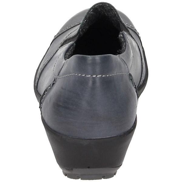 Comfortabel Comfortabel Damen Slipper grau