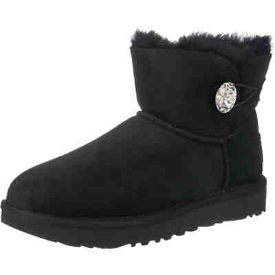 UGG Mini Bailey Button Bling Stiefeletten