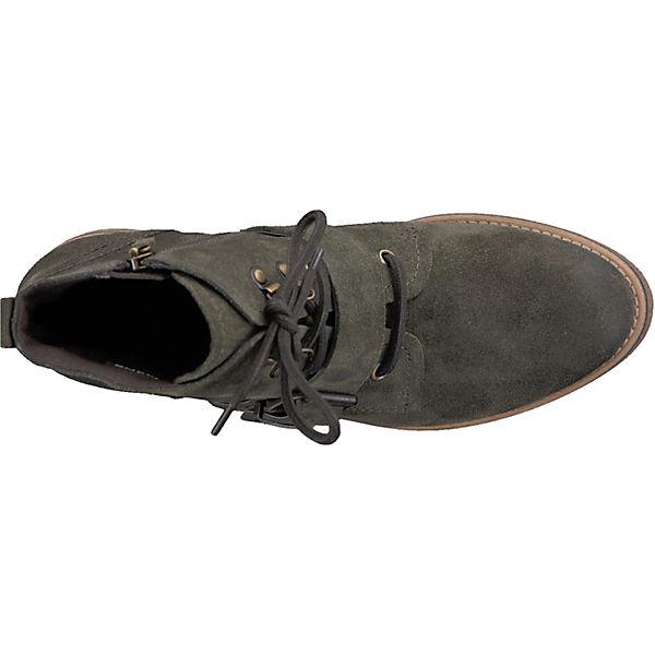 Tamaris, Tamaris Qualität Stiefeletten, dunkelgrün  Gute Qualität Tamaris beliebte Schuhe b1e657