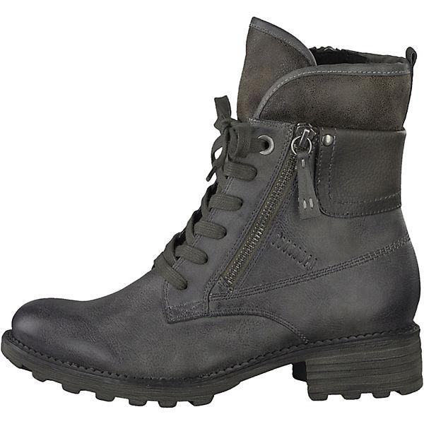 Tamaris, Tamaris Stiefeletten, grau  Gute Qualität beliebte Schuhe