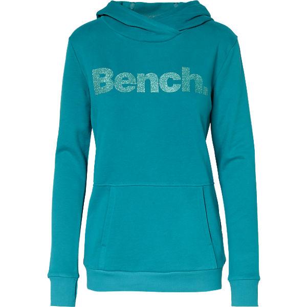 BENCH Sweatshirt türkis