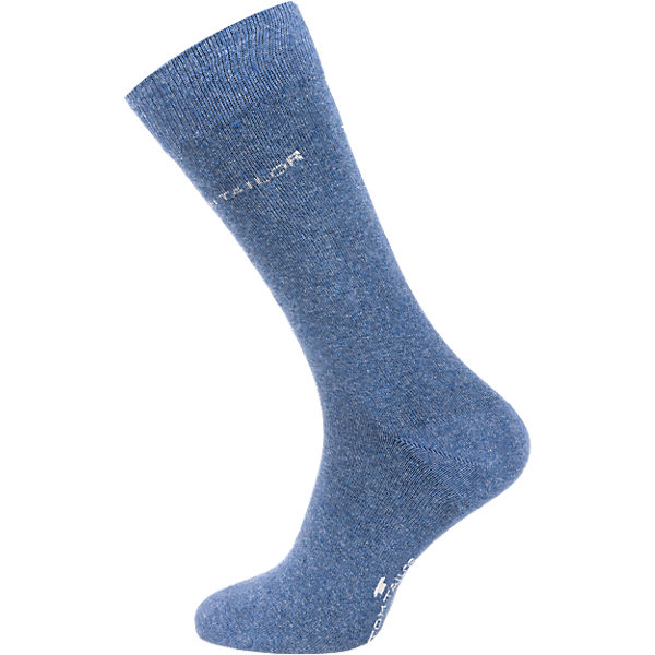 TOM TAILOR 2 Paar Socken hellblau