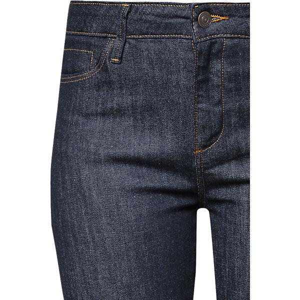 denim Jeans Rise blue by ESPRIT High edc Straight 0vwSv7