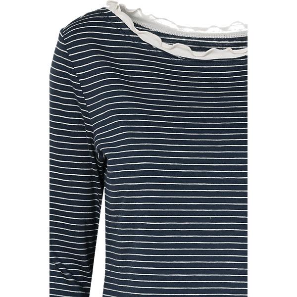 ESPRIT dunkelblau edc 3 by Arm Shirt 4 q56Zz5R