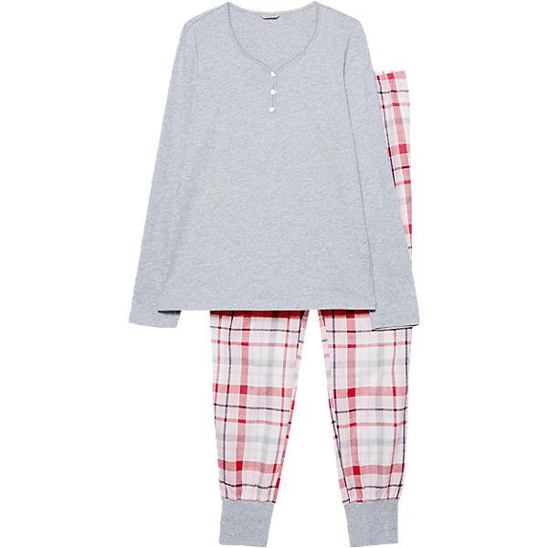 ESPRIT Carolin Schlafanzug ESPRIT BODYWEAR grau BODYWEAR OnRSwdIWgx