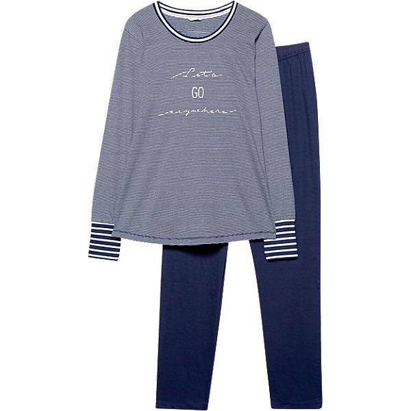 ESPRIT BODYWEAR BODYWEAR Chloe ESPRIT blau Schlafanzug Yqpvfqw