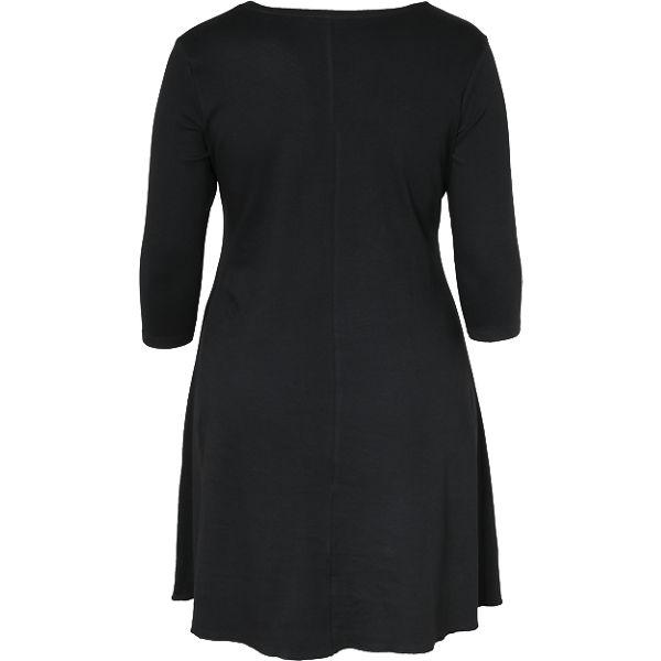 JUNAROSE JUNAROSE schwarz Organic Cotton Kleid Organic Cotton Cotton JUNAROSE Organic Kleid Kleid schwarz q4Ocq18R
