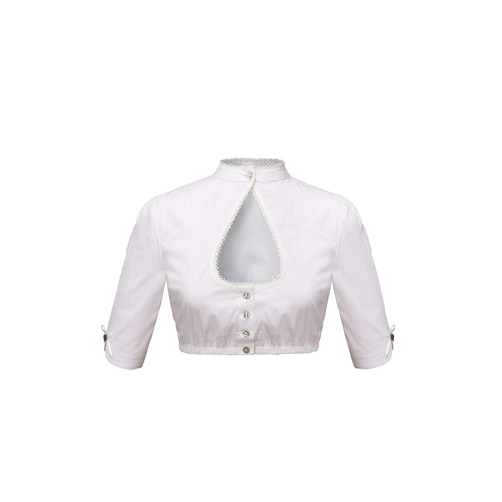 Stockerpoint Bluse weiß Damen Gr. 32